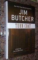 Turn Coat Jim Butcher Large Print Hardcover Dresden Files 11