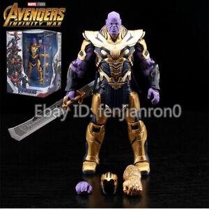 The-Avengers-Endgame-Thanos-2019-Marvel-8-034-Infinity-Gauntlet-Action-Figure-099