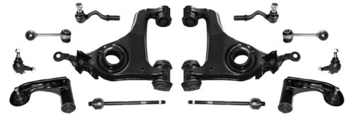 12 Pièces Grand Jeu Set Bras de Suspension mercedes w210 classe e Avant Guidon Triangle
