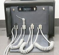 Dental Portable Unit Mobile Equipment With Compressor M4 4 Holes Made In Usa