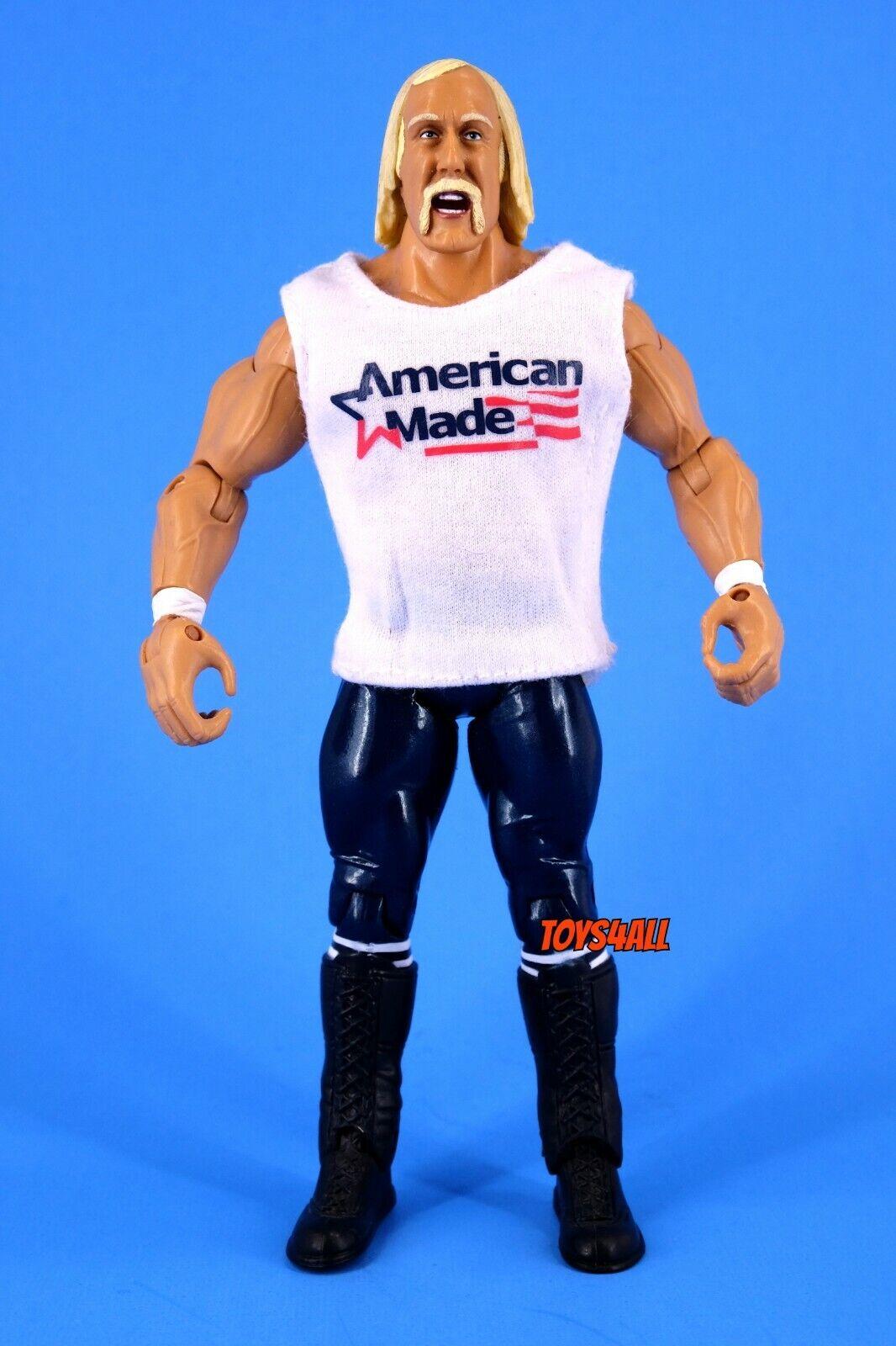 American Made Hulk Hogan WWE Jakks Classic Superstars Figure MINT Display_s107