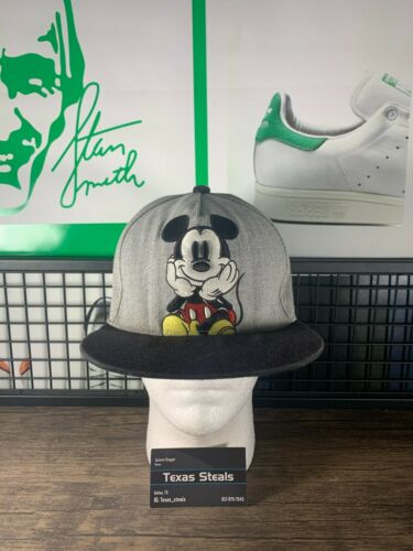 Disney Mickey Mouse Ripped Beater Hat Cap Snapback