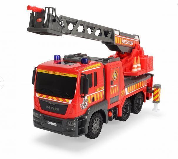 Simba 203809007 - Air Pump Fire Engine Feuerwehrauto Fire Rescue SAM