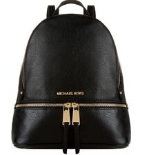 MICHAEL KORS WOMEN'S LEATHER RUCKSACK BACKPACK TRAVEL NEW RHEA  MD RRP £390