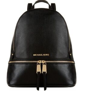 cc588ecbc69997 MICHAEL KORS WOMEN'S LEATHER RUCKSACK BACKPACK TRAVEL NEW RHEA MD ...