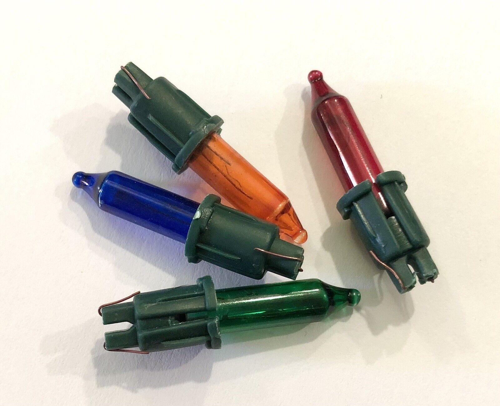 (KP2) Color 4x 12v 0.84w bombillas de repuesto de reemplazo/lámparas luces 20 para árbol de Navidad