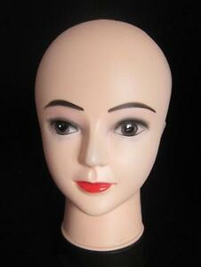 Woman Mannequin Professional Head Manequin Shop Display Wigs Scarf Hats 11″ Tall