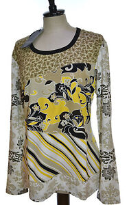 save off 2d5d5 571a3 Details about Marina Rinaldi Basic T-Shirt SIZE M