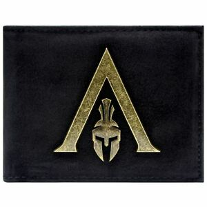 New Official Assassins Creed Odyssey Sparta Logo Black Id Card