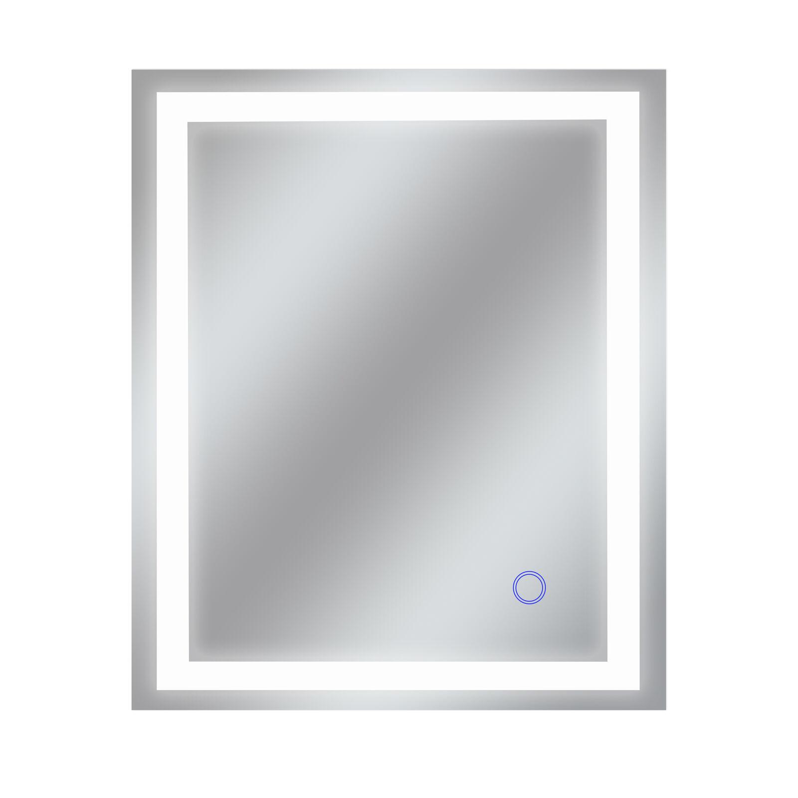 Dyconn Faucet Edison Tri-Farbe Backlit Bathroom LED Mirror (30 W x 36 H)