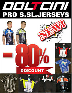CLEARANCE-NEW-Doltcini-Pro-Short-Sleeved-Cycling-Jersey-UK-STOCK-ONLY-13-99