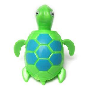 5X-Schwimm-Wind-up-Schwimmende-Schildkroete-Sommer-Spielzeug-fuer-Kinder-Bade-QP