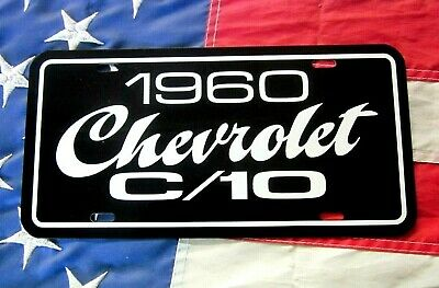 1968 Chevrolet C//10 pickup truck license plate tag 68 Chevy C10 half ton C-10