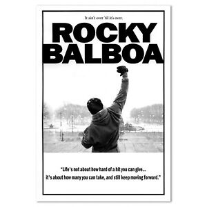 Details About Rocky Balboa Motivational Poster High Quality Prints