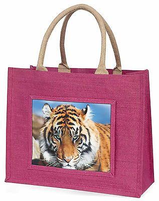 Bengalischer Tiger Große Rosa Einkaufstasche Weihnachten Geschenkidee, AT-15BLP