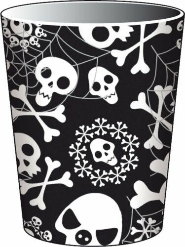 TOTENKÖPFE Geschirr Deko Halloween Piraten Kindergeburtstag Kinder Geburtstag