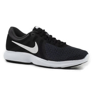 Details zu Nike Wmns Revolution 4 AJ3491 001 Damen Schuhe Sneakers Schwarz Weiß Grau SALE
