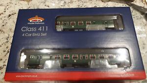 Bachmann 31-425a Class 411 4cep 4 Car Emu Late Sr Green Oo Gauge