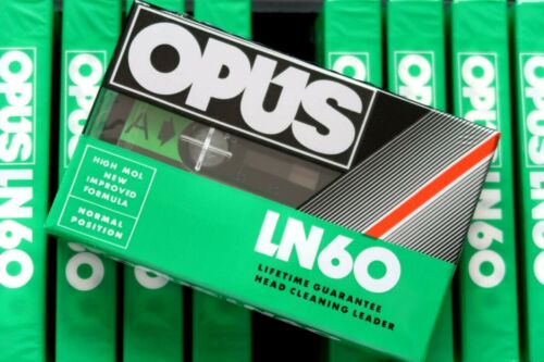 OPUS UD 60 NORMAL POSITION TYPE I BLANK AUDIO CASSETTE AUS