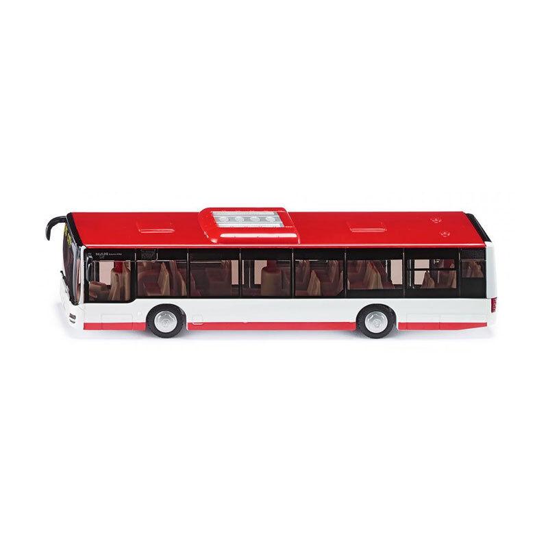 Siku 3734 Man Lion ´S Ville Bus Urbain - color Neuve white red Échelle 1