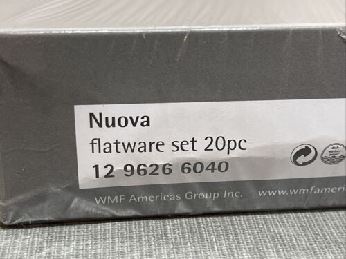 WMF Nuova Atria 20-Piece Flatware Set NEW MSRP $200 Forks Knives Spoons