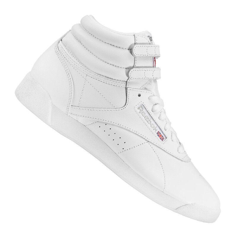 Reebok Freestyle Hi Sneaker Damen Damen Sneaker Weiss b5e86f