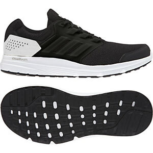 detailed look 3bcbc f4019 Image is loading Adidas-Men-Running-Shoes-Galaxy-4-Trainers-Cloudfoam-