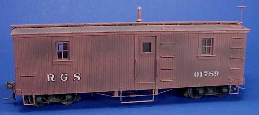 On3/On30 WISEMAN MODEL SERVICES RIO GRANDE SOUTHERN OUTFIT CAR  01789