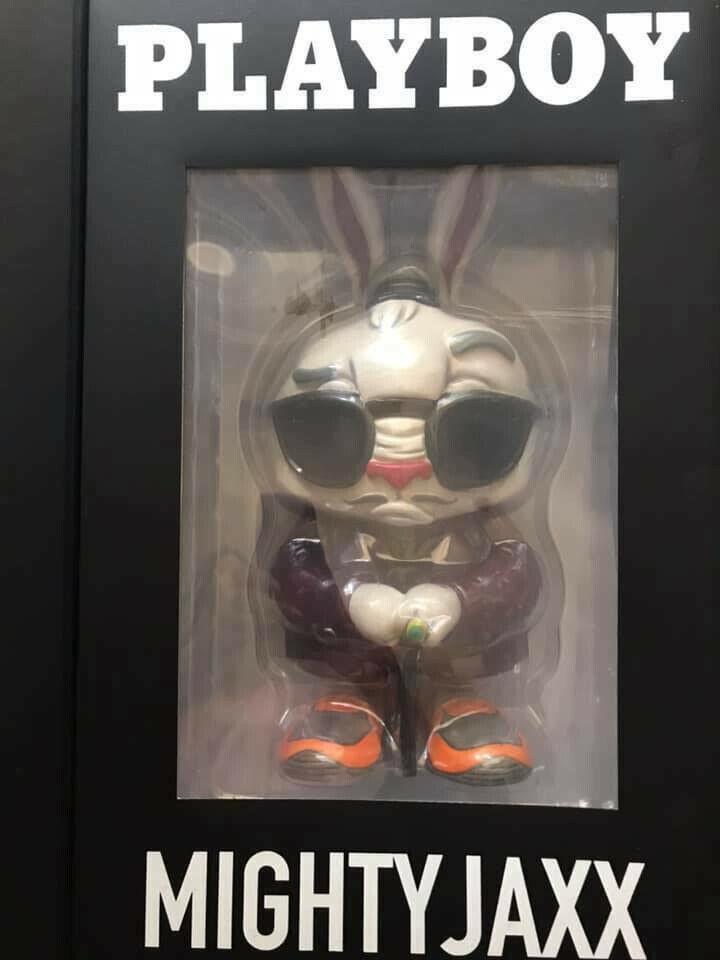 Coartismo - Playboy X Mighty Jaxx edizione limitata Playboy Bunny Art giocattolo
