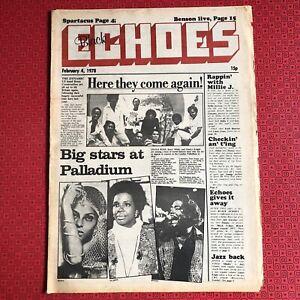Black Echoes 4 Feb 1978 Millie Jackson, Spartacus, Gonzalez..