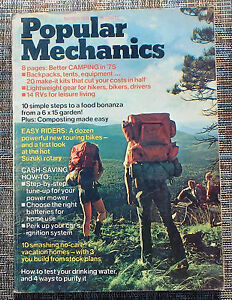 Popular-Mechanics-Magazine-March-1975-Better-Camping-039-75-Touring-Bikes