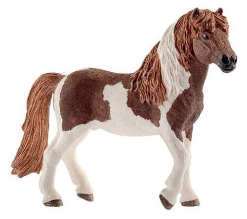 Schleich 13815 Icelandic Horse Stallion Pinto Model Toy Figurine 2017 NIP