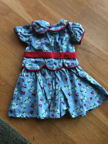 American Girl Doll Emily Meet Dress New