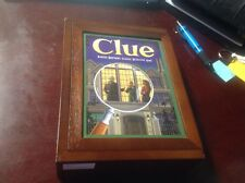 CLUE Game Vintage Collection WOODEN Bookshelf Wood Box - Contents sealed & NEW!
