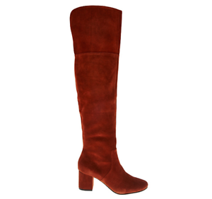 34fa9102b16b Sole Society Suede Over-the-knee Boots - Leandra Rust Cow Suede ...