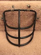 Vintage Schutt 1969 Black NJOP Large Red Dot Football Helmet Face Mask- Rare!