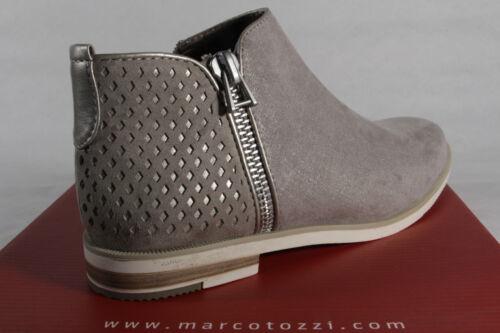 nuevo gris Marco Tozzi botín bota botas botines