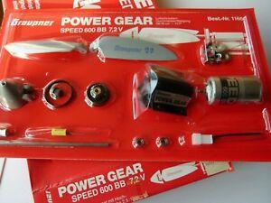 Graupner Kit Complet Neuf Sous Blister Speed 600bb 7,2v. Moteur Hélice Ect....