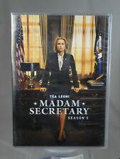 Madam Secretary Season 5 Dvd Set 2019 First Class For Sale Online Ebay