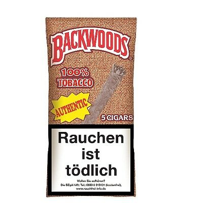 Backwoods Authentic 5 Zigarren / 34481