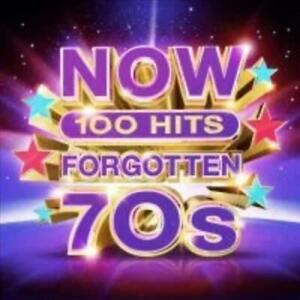 VARIOUS-ARTISTS-NOW-100-HITS-FORGOTTEN-70S-5-CD-NEW-CD