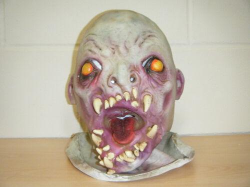 Zombie Mostro TESCHIO Deluxe LATTICE Horror Halloween Costume Maschera di testa