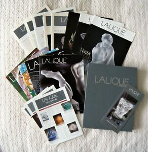 Lalique-Collectors-Society-of-America-Magazine-Portfolio-12-Mags-3-Flyers