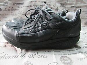 Details about Skechers Sport Shape Ups XT 52000 Black Sneakers Fitness Shoes Size 13 47.5