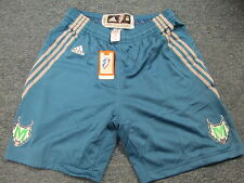 ADIDAS AUTHENTIC WNBA MINNESOTA LYNX REVOLUTION 30 ROAD GAME SHORTS SIZE M