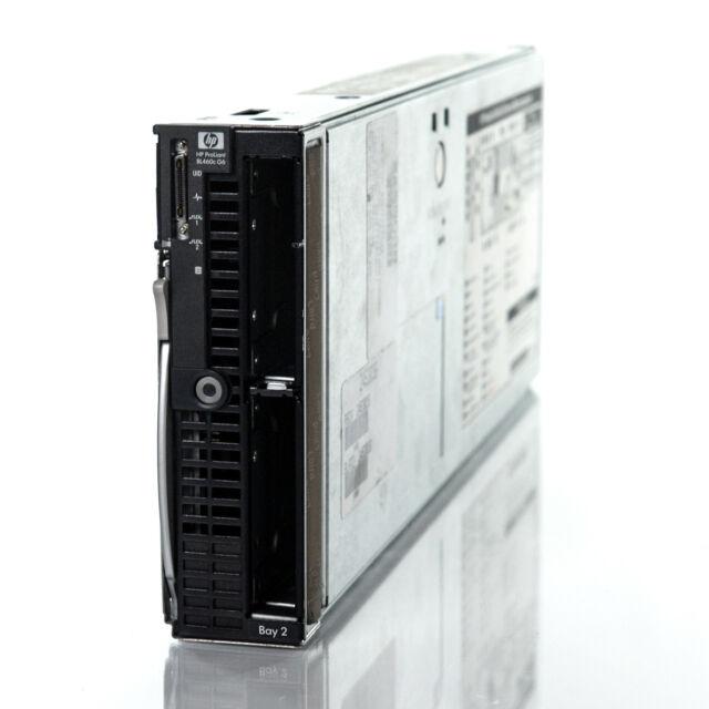 HP BL460C G7 BLADE SERVER 8gb RAM 2 x E5504 CPU 8 core for C7000