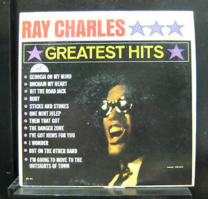 Image Is Loading Ray Charles Greatest Hits LP VG ABC 415
