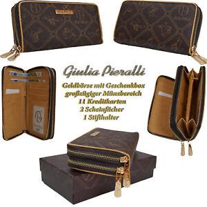 c43d4bfe5557b Das Bild wird geladen Damen-Geldboerse-Giulia-Pieralli -Frauen-Handgelektasche-Boerse-Geldbeutel-