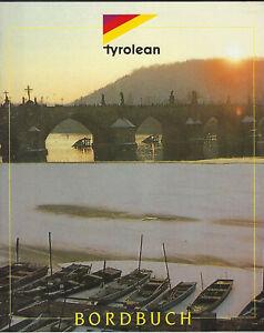 TYROLEAN Bordbuch / Inflight Magazine Dezember 1995