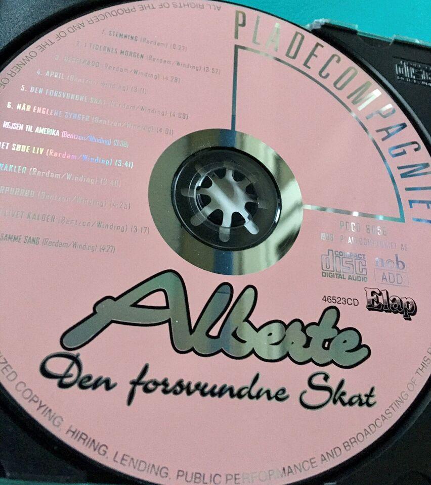 Alberte Winding: Den forsvundende Skat, pop